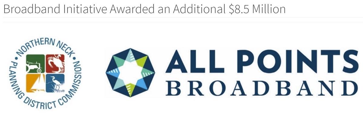 Broadband Initiative Awarded an Additional $8.5 Million